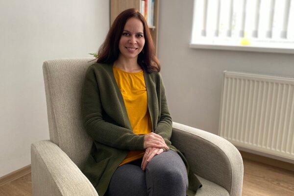 Jana Jamrichová, klinická psychologička a psychoterapeutka.