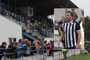 Vrábeľská návšteva jesene aplaudovala Tomášovi Ďubekovi, druhému najlepšiemu strelcovi prvoligovej éry FC ViOn, ktorý bol včera súčasťou masívnej pomoci áčka béčku.