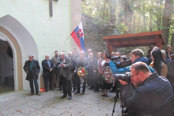 Maďarsko-slovenská pietna spomienka v Marhani.