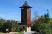 Vyhliadková veža nad Krásnom nad Kysucou.