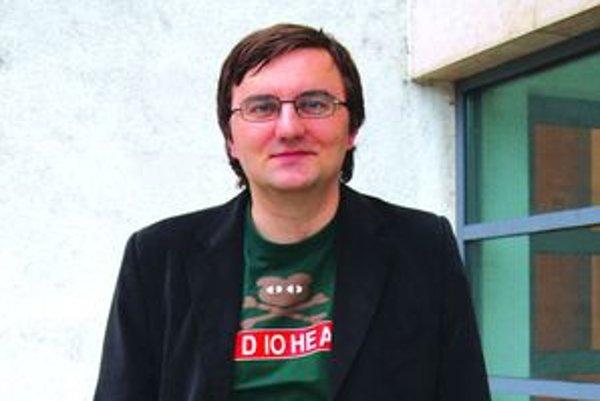 Daniel Majling je v pozícii dramaturga spokojný, herca ani režiséra by robiť nechcel.