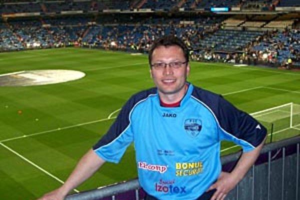 Nitran Miroslav Gerhát bol v Madride na slávnom El Clasico.