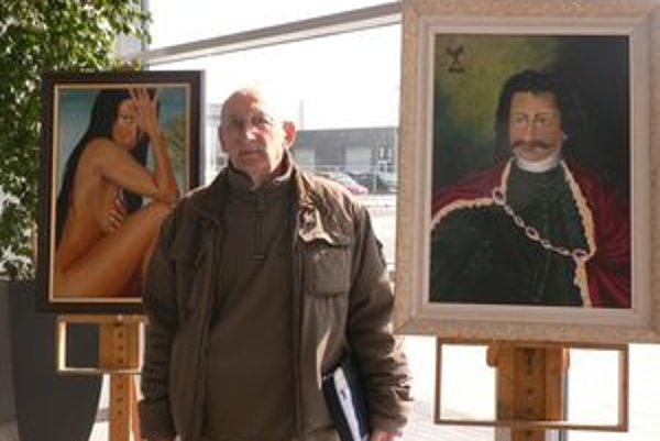 František Tóth je členom dvoch amatérskych výtvarníckych skupín, Terra Wágu a Galantskej palety.