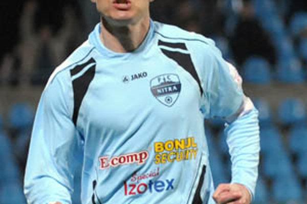 Kanonier Nitry Róbert Rák strelil v stredu dva góly, ďalší v Košiciach mu odoprel asistent rozhodcu.