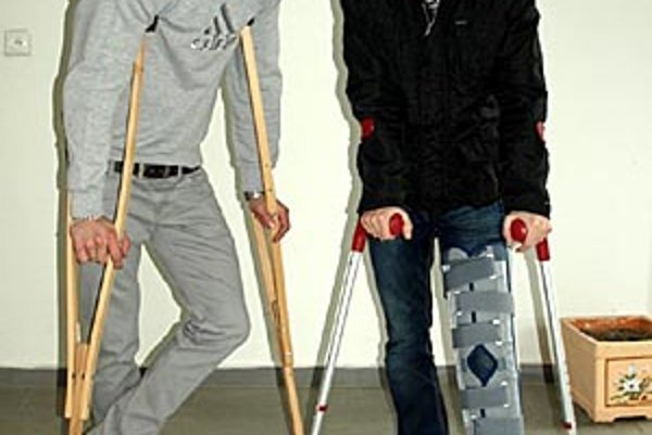 Lukáš Štetina (vľavo) a Martin Boszorád sú na čas odstavení.