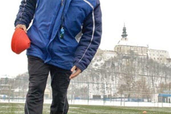 """""""Nechceme hrať alibistický futbal,"""" vraví tréner FC Nitra Ivan Galád."""