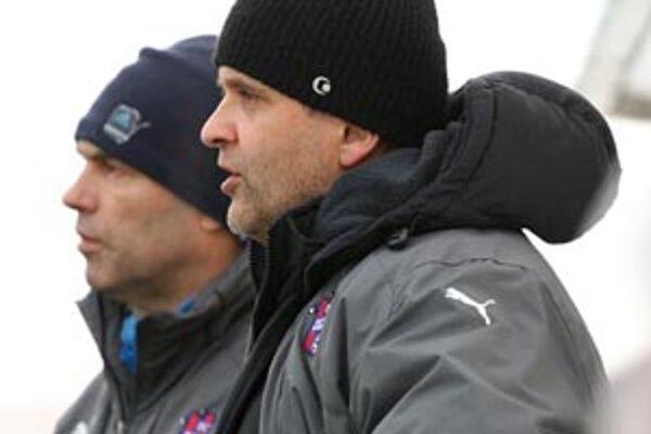 Tréner Juraj Jarábek si želá postup, a to čo najľahšou cestou.