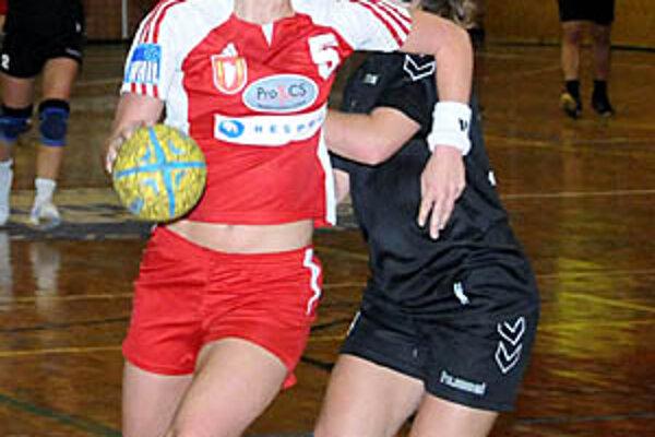 Jana Braunová prispela k víťazstvu 4 gólmi.