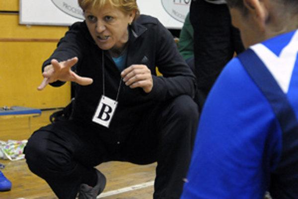 Trénerka Darina Braunová.