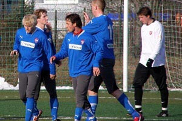 Vionisti hrali dva zápasy proti Trnave.
