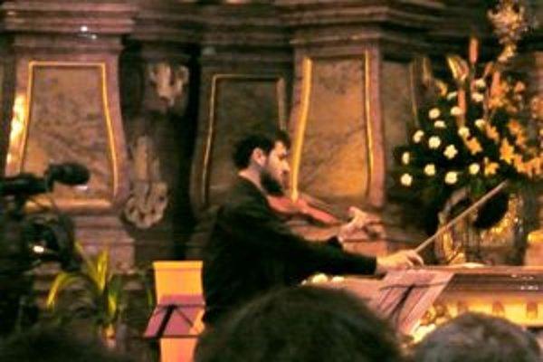 Na Musice sacre sa predstavil súbor Collegium cantorum.