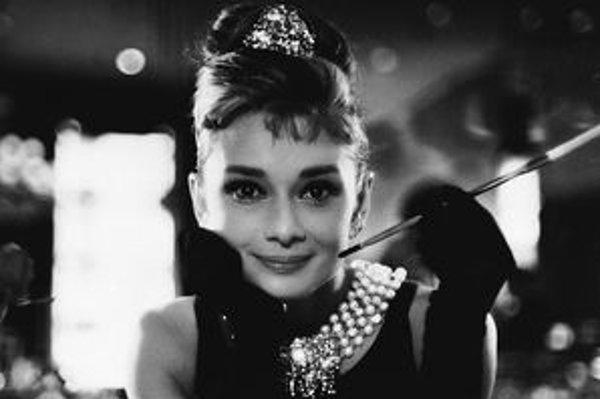 Adrey Hepburn v čase svojej filmovej slávy.