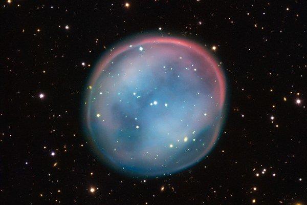 ESO 378-1, alebo Southern Owl Nebula.