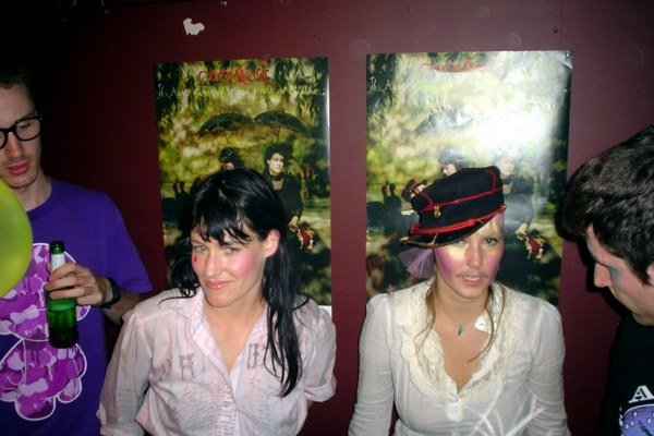 Sestry Casadyové spolu hrajú od roku 2003.