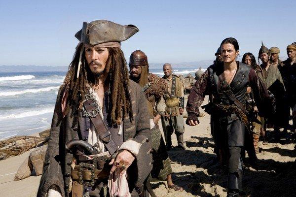 Jacka Sparowa stvárnil v sérii filmov Piráti z Karibiku Johny Depp.