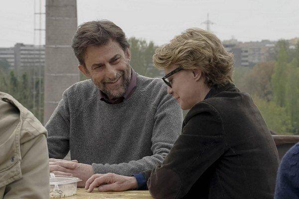 Nanni Moretti s Margeritou Buy, ktorej vo filme Mia madre prenechal hlavnú úlohu.