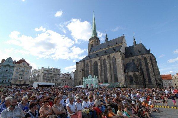 Počas celého roka sa v rámci projektu Plzeň 2015 uskutoční vyše 600 akcíí.