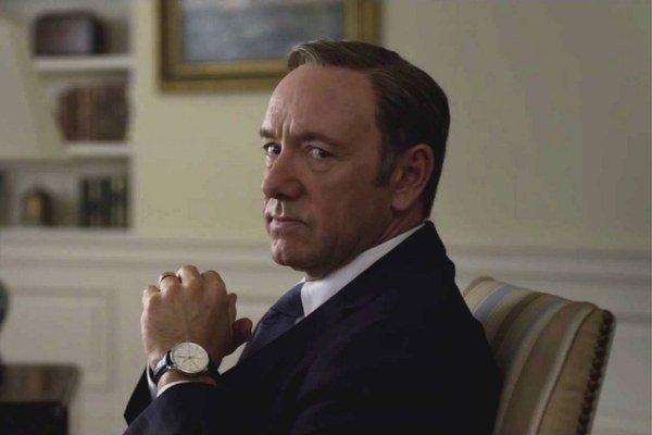 Kevin Spacey v House of Cards na vrchole svojej hereckej kariéry.