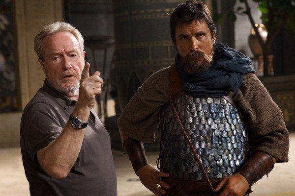 Oscarový herec Christian Bale dostal od Ridleyho Scotta hlavnú úlohu. Vo filme Exodus: Bohovia a králi hrá Mojžiša.