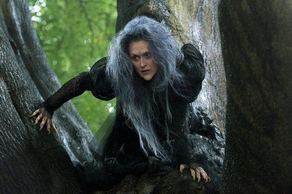 Meryl Streep hrá v Príbehoch z lesov bosorku.