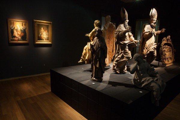 Aktuálne si v priestoroch SNG môžete pozrieť výstavu Nestála expozícia.