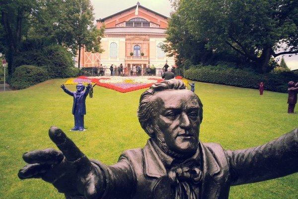 Festivalové divadlo Richarda Wagnera v bavorskom Bayreuthe.