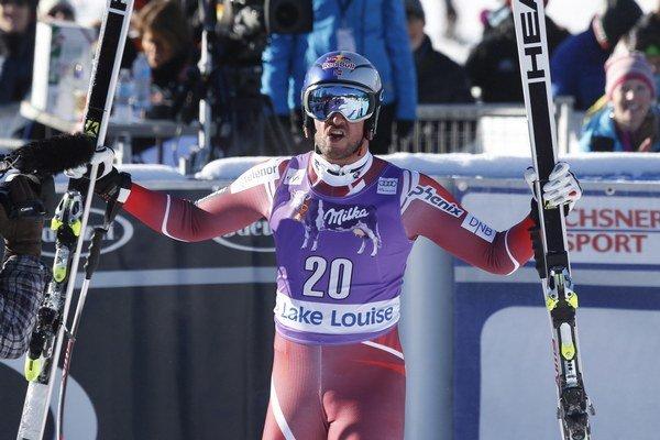 Aksel Lund Svindal predviedol v Lake Louise najlepšiu jazdu.