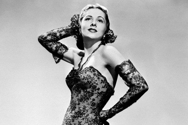 Joan Fontainová na archívnom zábere z roku 1945.