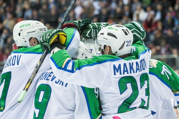 Hokejisti Salavatu Julajev Ufa nedovolil streliť súperovi ani jeden gól.