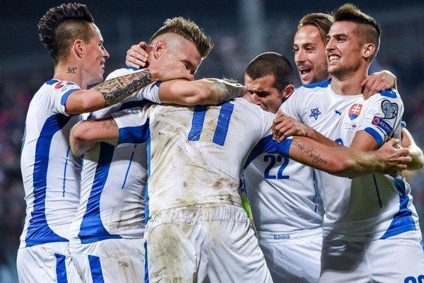 Slovenskí futbalisti vybojovali postup na Majstrovstvá Európy.