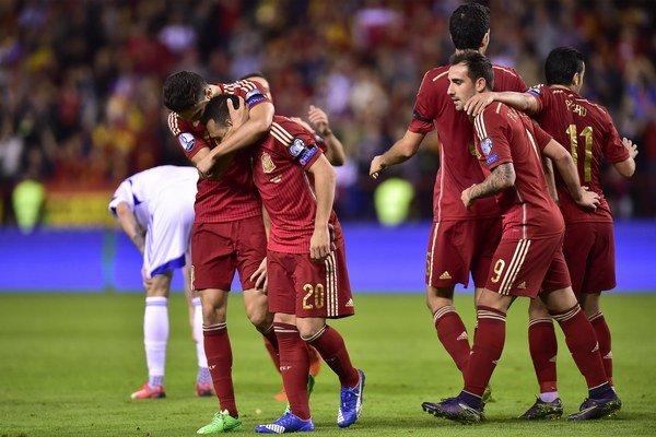 Španielsky topfavorit si proti Luxemburčanom splnil úlohu favorita.