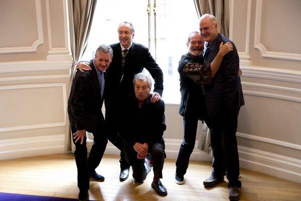 Členovia Monty Pythonsa už opäť tešia na fanúšikov.