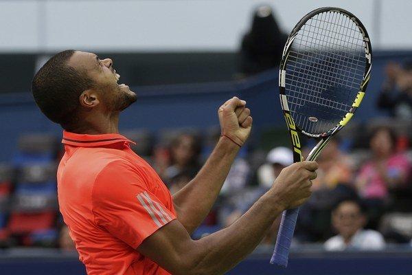 Jo-Wilfried Tsonga si na turnaji v Šanghaji zahrá o titul.