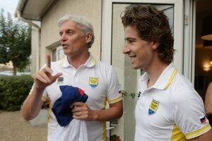 Oleg Tiňkov a Peter Sagan.