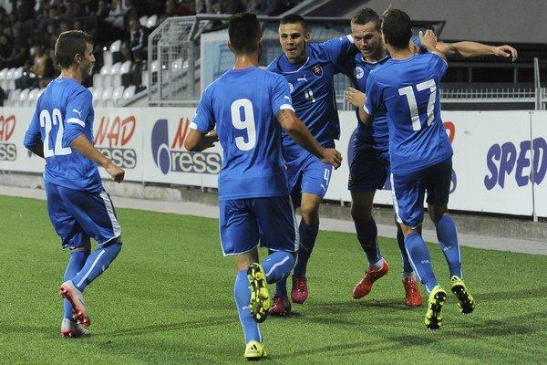 Slovenskí mladíci dokázali v súboji s Tureckom otočiť z 0:2.