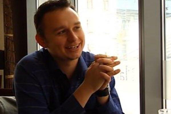 Režisér filmu Immortalis Erik Bošňák.