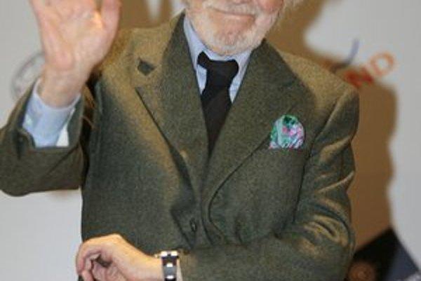 Skladateľ na archívnej snímke z roku 2007.