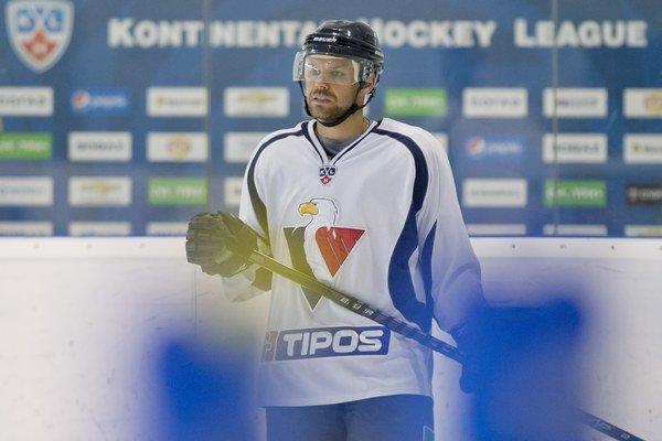 Špirko nechýbal ani na otváracom tréningu Slovana na ľade.