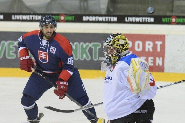 Roman Rác si už obliekol aj reprezentačný dres. Nastúpil v zápase turnaja Euro Hockey Challenge vo Viedni proti Taliansku.