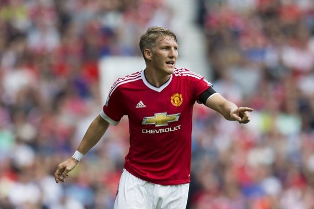 Schweinsteiger hrá na klubovej úrovni za Manchester United