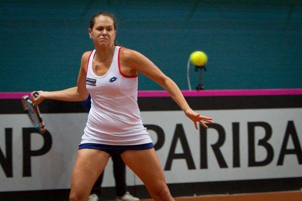 Jana Čepelová prešla v Cincinnati prvým kvalifikačným kolom.
