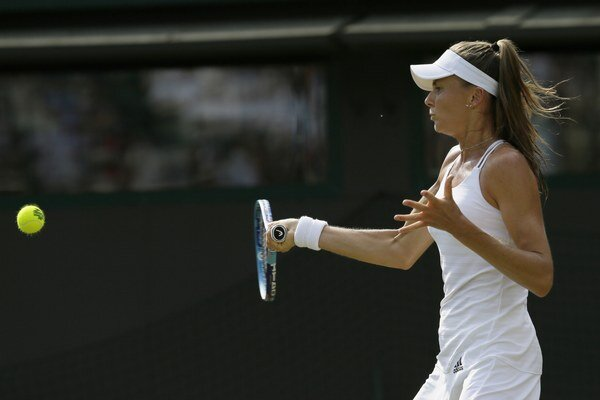 Daniela Hantuchová dlho na turnaji v Cincinnati nepobudla.