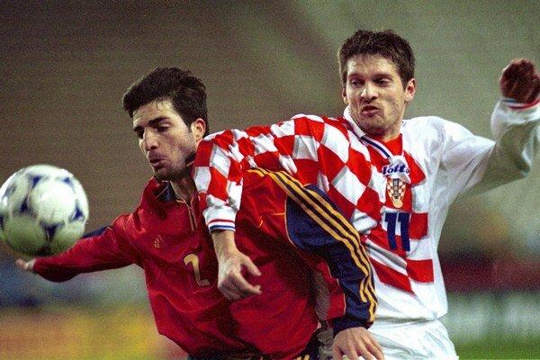 V národnom tíme odohral Vugrinec (vpravo) celkovo 28 stretnutí.