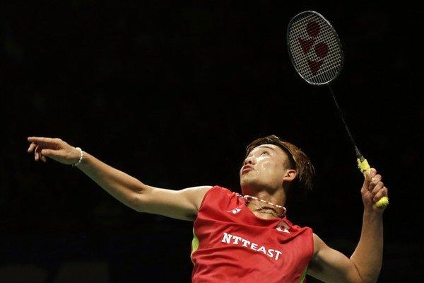 Len dvadsaťročný Japonec Kento Momota vybojoval tento rok už svoj druhý titul v najvyššej svetovej súťaži.