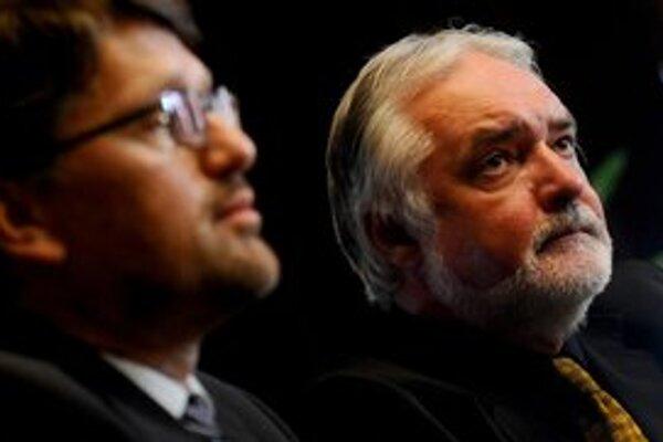 Marek Maďarič prvýkrát prijal víťaza konkurzu na post generálneho riaditeľa Slovenského národného divadla Mariána Chudovského.