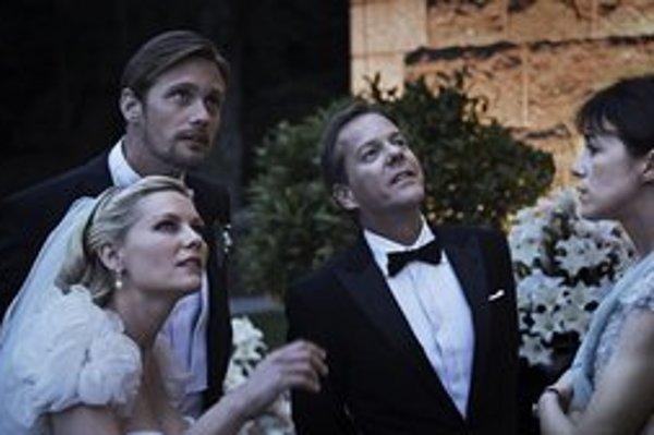 Melancholia, zatiaľ posledný film Larsa von Triera. V apríli získala našu národnú cenu Slnko v sieti v kategórii najlepší zahraničný film.