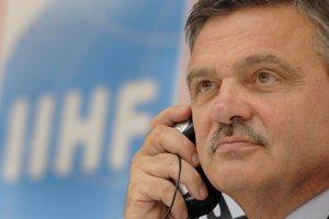 René Fasel je na čele svetového hokeja už dvadsaťjeden rokov.