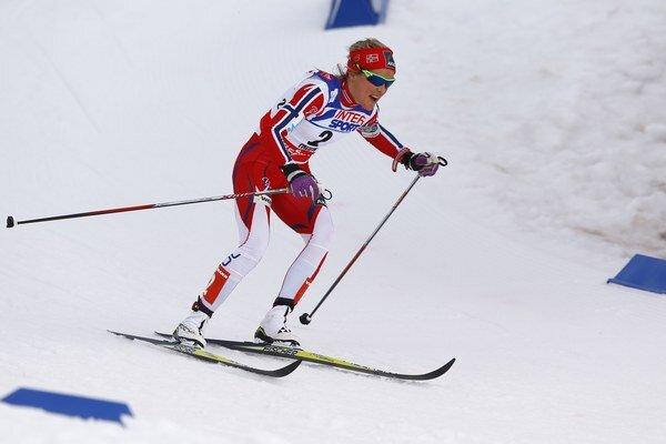 Nórka Therese Johaugová nedala súperkám na 30 km trati žiadnu šancu.