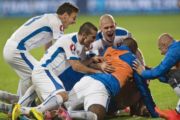 Skvelé výsledky slovenských reprezentantov sa premietli aj do bodovacieho koeficientu UEFA.