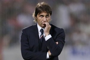 Kouč talianskej futbalovej reprezentácie Antonio Conte.